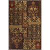Artistic Weavers Waterford 66-in x 90-in Rectangular Red/Pink Floral Area Rug