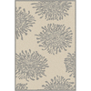 Artistic Weavers Alcoa 90-in x 126-in Rectangular Cream/Beige/Almond Floral Area Rug