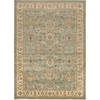 Artistic Weavers Mayotte 63-in x 90-in Rectangular Blue Floral Area Rug