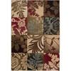 Artistic Weavers Columbus Brown Rectangular Indoor Woven Area Rug (Common: 8 x 11; Actual: 94-in W x 130-in L x 2.5-ft Dia)
