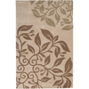 Artistic Weavers York 96-in x 132-in Rectangular Cream/Beige/Almond Floral Area Rug
