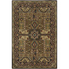 Artistic Weavers Preston 96-in x 132-in Rectangular Brown/Tan Floral Area Rug