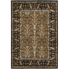 Artistic Weavers Armagh 90-in x 126-in Rectangular Brown/Tan Floral Area Rug