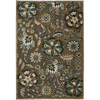 Artistic Weavers Cashel 90-in x 126-in Rectangular Brown/Tan Floral Area Rug