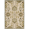 Artistic Weavers Yorkshire 62-in x 90-in Rectangular Cream/Beige/Almond Floral Area Rug