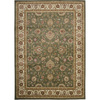Artistic Weavers Albany 94-in x 123-in Rectangular Green Floral Area Rug