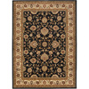 Artistic Weavers Perth 63-in x 87-in Rectangular Black Floral Area Rug