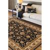 Artistic Weavers Perth Black Rectangular Indoor Woven Area Rug (Common: 8 x 10; Actual: 94-in W x 123-in L x 1.8-ft Dia)