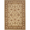 Artistic Weavers Algeria 94-in x 123-in Rectangular Cream/Beige/Almond Floral Area Rug