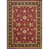 Artistic Weavers Angola 63-in x 87-in Rectangular Red/Pink Floral Area Rug