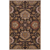 Artistic Weavers Luton 60-in x 96-in Rectangular Brown/Tan Floral Area Rug