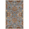 Artistic Weavers Medway 60-in x 96-in Rectangular Blue Floral Area Rug
