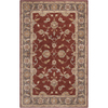 Artistic Weavers Rockdale 96-in x 120-in Rectangular Red/Pink Floral Area Rug