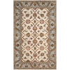 Artistic Weavers Ryde 96-in x 120-in Rectangular Cream/Beige/Almond Floral Area Rug