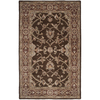 Artistic Weavers Augusta 96-in x 120-in Rectangular Brown/Tan Floral Area Rug