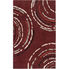 Artistic Weavers Newnan 96-in x 120-in Rectangular Red/Pink Geometric Area Rug