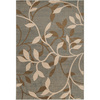 Artistic Weavers Waikiki 94-in x 130-in Rectangular Green Floral Area Rug