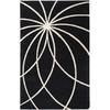 Artistic Weavers Forum 60-in x 96-in Rectangular Black Geometric Area Rug