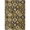 Artistic Weavers Botswana 94-in x 126-in Rectangular Green Geometric Area Rug