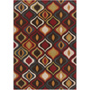 Artistic Weavers Burundi 94-in x 126-in Rectangular Red/Pink Geometric Area Rug