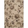 Artistic Weavers Akona 93-in x 134-in Rectangular Cream/Beige/Almond Floral Area Rug
