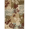 Artistic Weavers Crestview Brown Rectangular Indoor Woven Area Rug (Common: 5 x 8; Actual: 63-in W x 90-in L x 1.6-ft Dia)