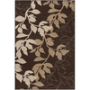 Artistic Weavers Dowsett 93-in x 134-in Rectangular Brown/Tan Floral Area Rug