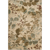 Artistic Weavers Eden 63-in x 90-in Rectangular Cream/Beige/Almond Floral Area Rug