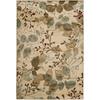Artistic Weavers Eden Ivory Rectangular Indoor Woven Area Rug (Common: 8 x 11; Actual: 93-in W x 134-in L x 2.5-ft Dia)
