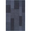 Artistic Weavers Gisborne 60-in x 96-in Rectangular Blue Geometric Area Rug