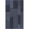 Artistic Weavers Gisborne Blue Rectangular Indoor Tufted Area Rug (Common: 5 x 8; Actual: 60-in W x 96-in L x 1.7-ft Dia)