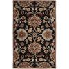 Artistic Weavers Dearne Black Rectangular Indoor Tufted Area Rug (Common: 8 x 11; Actual: 96-in W x 132-in L x 2.4-ft Dia)