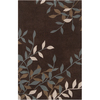 Artistic Weavers Tucker 96-in x 120-in Rectangular Brown/Tan Floral Area Rug