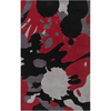 Artistic Weavers Atlanta Red Rectangular Indoor Tufted Area Rug (Common: 8 x 10; Actual: 96-in W x 120-in L x 2.4-ft Dia)