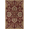 Artistic Weavers Norwich Red Rectangular Indoor Tufted Area Rug (Common: 8 x 11; Actual: 96-in W x 132-in L x 2.4-ft Dia)