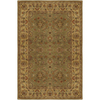 Artistic Weavers Crowne 60-in x 96-in Rectangular Green Border Area Rug