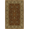 Artistic Weavers Crowne Rectangular Red with Brown Border Area Rug (Common: 5-ft x 8-ft; Actual: 5-ft x 8-ft)