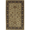 Artistic Weavers Crowne 96-in x 132-in Rectangular Yellow/Gold Border Area Rug