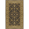 Artistic Weavers Crowne 60-in x 96-in Rectangular Gray/Silver Border Area Rug
