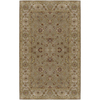 Artistic Weavers Crowne 96-in x 132-in Rectangular Brown/Tan Border Area Rug