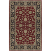 Artistic Weavers Crowne 60-in x 96-in Rectangular Red/Pink Border Area Rug