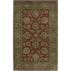 Artistic Weavers Crowne 96-in x 132-in Rectangular Red/Pink Border Area Rug