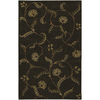 Artistic Weavers Sardinia 96-in x 132-in Rectangular Black Floral Area Rug