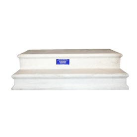 Shop Century Group Inc 14 In X 33 In 2 Tread Precast Concrete Steps At Lowes