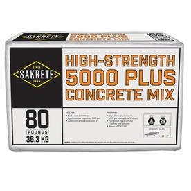 Sakrete 80 lbs Pro Finish Concrete Mix