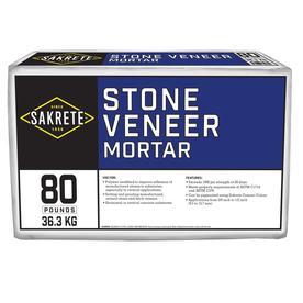 Sakrete 80-lb Gray Type-N Mortar Mix