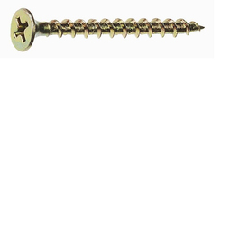 Grip-Rite 1-lb #6 x 2-in Bugle-Head Yellow Zinc Interior Wood Screws