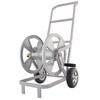 Garden Treasures Steel 200-ft Cart Hose Reel