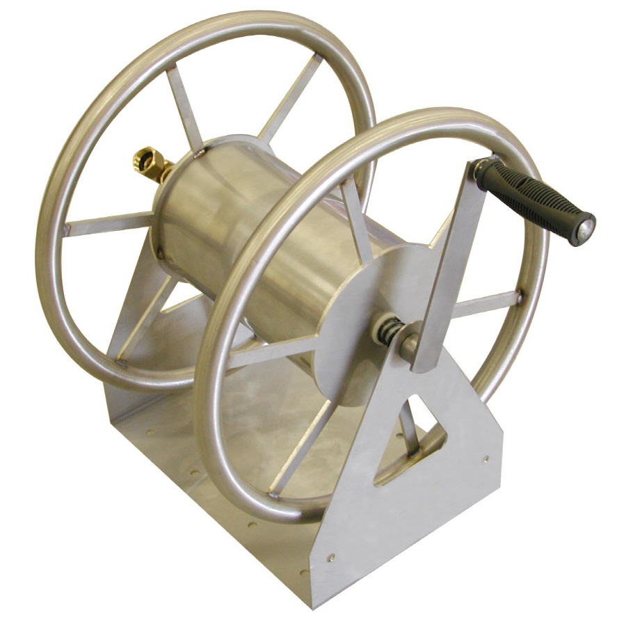 Shop Liberty Garden Products Steel 5-ft Wall-Mount Hose Reel at Lowes