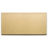 Aspect Metal 6-in Brushed Champagne Composite Multipurpose Backsplash